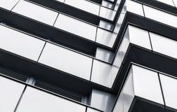 抽象现代建筑学背景 库存图片