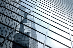 抽象现代摩天大楼 库存照片