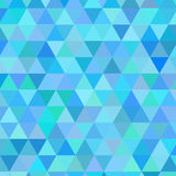 抽象现代几何蓝色背景 免版税库存照片