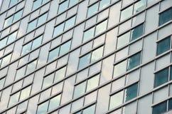 抽象现代大厦背景 免版税库存图片