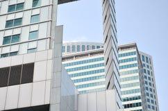 抽象现代大厦背景 图库摄影