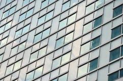 抽象现代大厦背景 免版税库存照片
