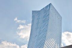 抽象现代大厦背景 库存图片