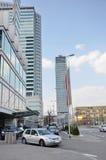 抽象现代大厦 免版税库存照片