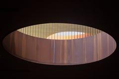 抽象现代建筑学意大利 图库摄影