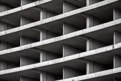 抽象现代建筑学背景 免版税库存照片