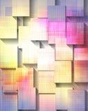 抽象现代 免版税库存图片