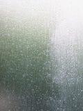 抽象玻璃弄湿了 免版税库存图片