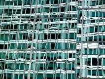抽象玻璃绿色 免版税图库摄影