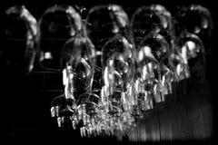 抽象玻璃酒 免版税图库摄影
