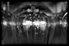 抽象玻璃酒 免版税库存照片