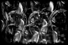 抽象玻璃酒 免版税库存图片