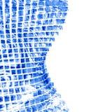 抽象玻璃 库存例证