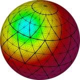 抽象球光 库存图片