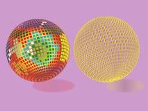 抽象球形 免版税库存图片
