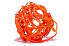 抽象球秸杆 库存照片