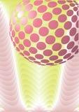 抽象球设计迪斯科向量 向量例证