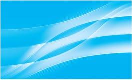 抽象生动背景蓝色的流 向量例证