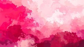 抽象生气蓬勃的被弄脏的背景无缝的圈录影洋红色和浅粉红色颜色 股票录像