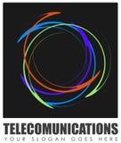 抽象电信标志 免版税库存照片