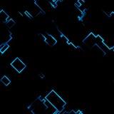 抽象电未来派网格搏动 向量例证