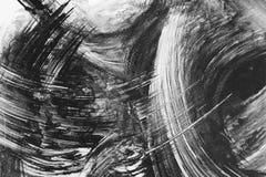 抽象画笔绘画 免版税图库摄影