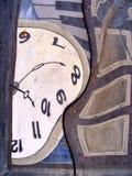 抽象畸变研究时间 图库摄影