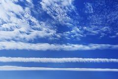 抽象白色云彩 库存照片