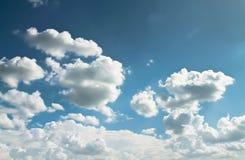 抽象白色云彩 图库摄影