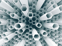 抽象白色墙壁混乱背景 库存例证