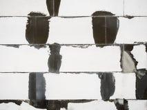 抽象白色砖 免版税库存图片