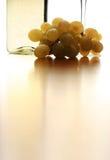 抽象白葡萄酒 免版税库存照片