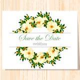 抽象看板卡例证婚礼 库存照片