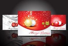 抽象看板卡圣诞节问候 库存照片