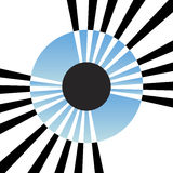 抽象眼睛虹膜 免版税图库摄影