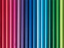 抽象着色铅笔 库存图片