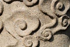 抽象石模式 免版税库存照片