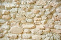 抽象石头在水泥纹理背景中 免版税库存照片