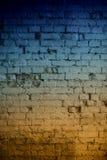 抽象砖墙背景 免版税库存照片