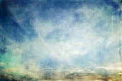 抽象磨擦的grunge天空 免版税库存图片