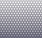 抽象神圣的几何紫色栅格中间影调求样式的立方 皇族释放例证
