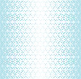 抽象神圣的生活中间影调样式几何蓝色梯度花  向量例证