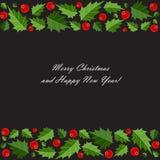 抽象秀丽圣诞节和新年度背景 免版税库存照片