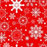 抽象秀丽无缝圣诞节和的新年 库存图片