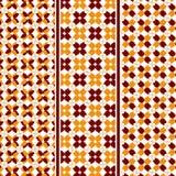 抽象秋叶样式 免版税库存图片