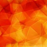 抽象秋天几何形状 正EPS10 免版税库存照片
