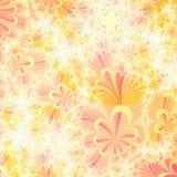 抽象秋天背景设计模板 免版税库存照片