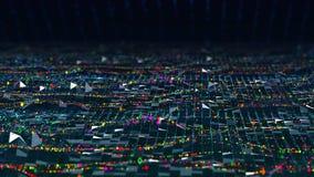 抽象科学分析美好的行动大数据图流程背景完善对文本标题信息介绍4k 向量例证