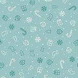 抽象空白背景圣诞节黑暗的装饰设计模式红色的星形 无缝蓝色的模式 库存图片