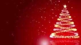 抽象空白背景圣诞节黑暗的装饰设计模式红色的星形 股票视频